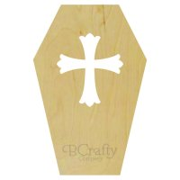 Casket Wooden Shape