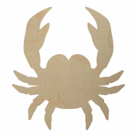 Wholesale Wooden Crab Cutout - Style 2