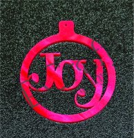 Holiday Acrylic Ornament - 1/8 inch