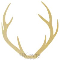 Wholesale Wooden Deer Antler Shape