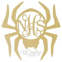 Spider Border Monogram