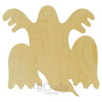 Ghost Group Wooden shape
