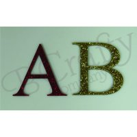 Acrylic Letters Specialty Colors - Peel and Stick 1/8 inch thick