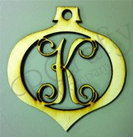 Wholesale Wooden Letter Ornament