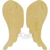 Wings Two Piece Wooden shapes