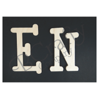 Wooden Letters - 3/4 inch thick