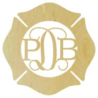 Maltese Cross Border Monogram