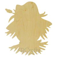 Scarecrow Wooden shape