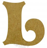 Wholesale MDF Letters 1/4 inch thick