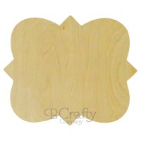 French Wooden Plaque - 1/2 inch thick