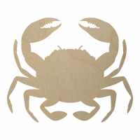 Wholesale Wooden Crab Cutout - Style 3
