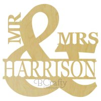 Mr and Mrs Ampersand with Name