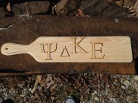 GREEK Wooden Letters 1/8 inch thick - Laser Cut