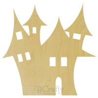 Haunted Mansion Wooden shape