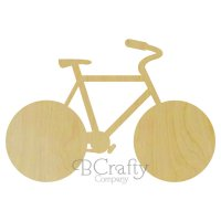 Bicycle Wooden Shape