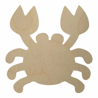 Wholesale Wooden Crab Cutout - Style 1