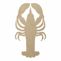 Wholesale Wooden Lobster Cutout