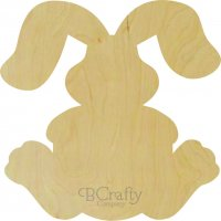 Wholesale Bunny w Floppy Ears Cutout