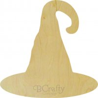 Witch Hat Wooden Shape
