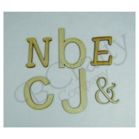 Wooden Letters - 1/8 inch thick