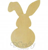 Wholesale Bunny w Floppy Ear Cutout