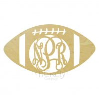Football Border Monogram